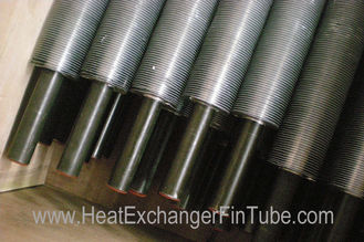 Bi-metal refrigeration Extruded Fin Tube ,  A210 Gr A1 / C SMLS carbon Tubing